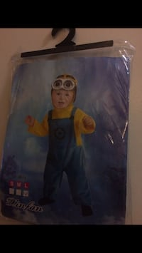 Toddler's minions costume pack Cambridge, 02139