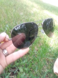 Black out Ray bans with black case as wellike new good condition Edmonton, T5A 4L1