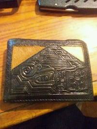 black leather wallet Rochester, 03867