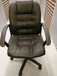 Leather chair Fairfax