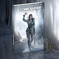 Mint condition rise of the tomb raider guide (hardcover)