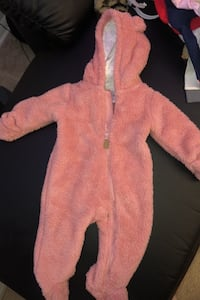 Carters Babygirl snowsuit from Macy's