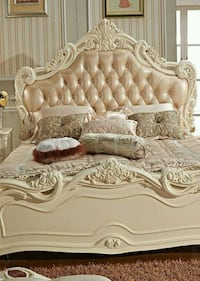 New luxury beds for sale in different style and pr Lahore
