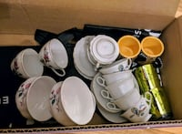 Last chance! Assorted tiny teacups, bowls, saucers Toronto, M4C 2X4