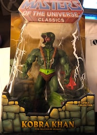 Masters of the Universe Classics Lot