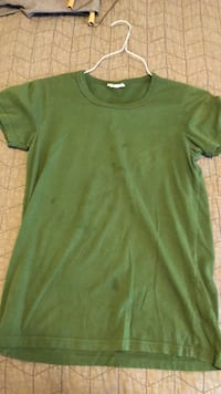 green crew-neck t-shirt Mabank, 75147
