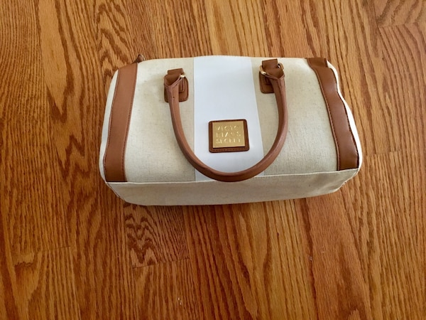 NEW Victoria's Secret Beige Satchel Bag