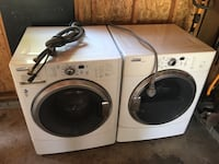 two white whirlpool front-load clothes washer and dryer set Carlisle, 17015