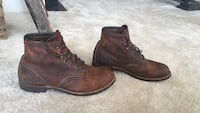 Redwing boots blacksmith size 10 almost new 10 km