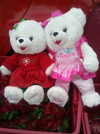 plush Christmas bears Lancaster, 93535