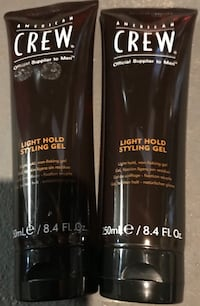 Two American Crew light hold styling gel Attleboro, 02703