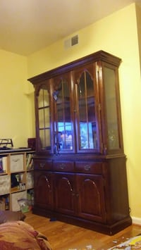 2 peices China cabinet Sterling