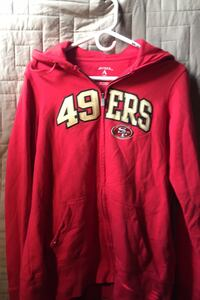 Antigua 49ers Size Large Hoodie (New) San Francisco, 94103