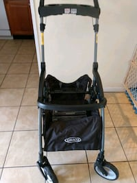 Graco click connect stroller frame