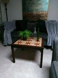 Table with tile top solid wood Tucson, 85706