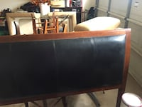 Queen headboard with matching frame