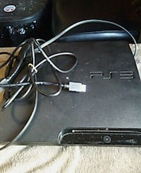 Ps3 with cords, 1 controller, 5 games & headphones Wichita