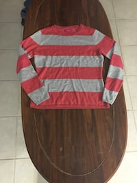 Striped pink and grey sweater Lethbridge, T1H 3H2