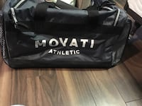 black Movari Athletic duffel bag London, N5V