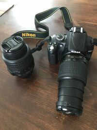 Nikon pro d-5000. perfect condition. including original lens and 1 55-200 mm zoom ($600 value, included!), set of filters and battery charger. Must sell that's why this low price.