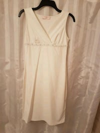 White dress. Made in Italy  Vaughan