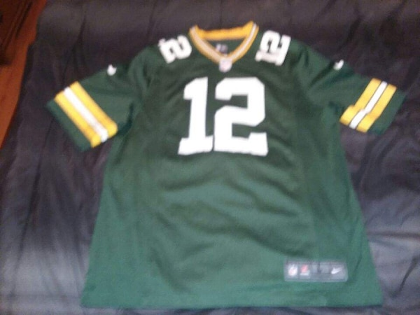 sports shoes acfbf 8afa7 Green Bay Packers Aaron Rodgers Home Jersey