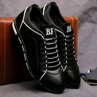 pair of black fashion shoes  Shoreline, 98133