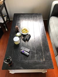 Black/White Rectangular Table New Orleans, 70117