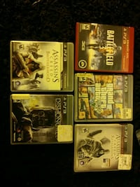 four assorted PS3 game cases Fort Collins, 80521