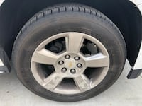 silver Chevy 5-spoke automotive wheel and tire Yucca Valley, 92284