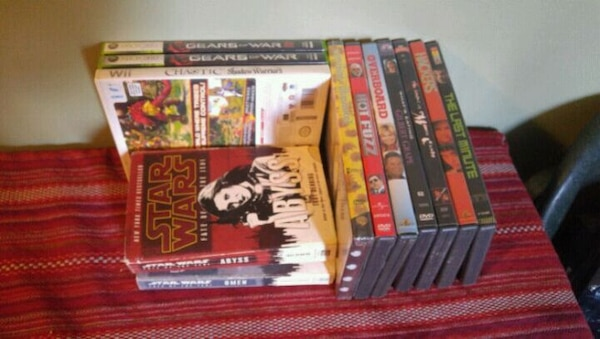 Movies games books