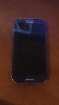 black Samsung Galaxy S3 mini