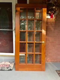 Solid wood French Doors (36x79) I have 3. $100 each Springfield, 22152