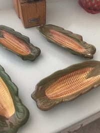 4 glass corn dishes  New Port Richey, 34653