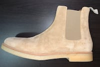 Common Projects Mens Tan Suede Chelsea Boots Toronto, M5V