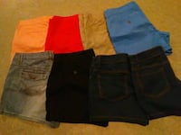 eight assorted shorts