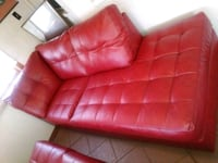 Red Sectional chair