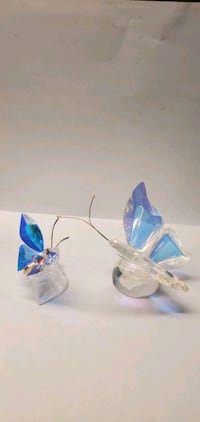 Butterfly decorative statuettes