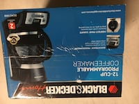 New black and decker 12 cup coffee maker