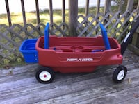 red and blue Radio Flyer wagon Garden City, 11530
