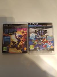 PS3 Sly Cooper hele serien