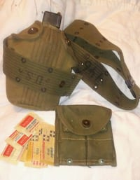 WWll military issued canteen belt first aid kit Blue Springs, 64014