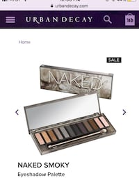 Naked Smoky Eyeshadow Palette Chico, 95926