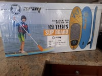 Inflatable Paddle Board - Teen Size 554 km