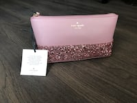 Kate Spade pouch sparkle pink Vaughan, L6A 4G5