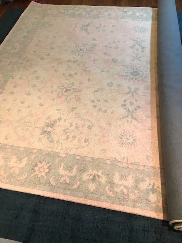 BRAND NEW Pottery Barn Kids 8x10 wool rug 0
