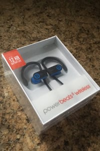 Powerbeats3 Wireless Headphone Blue Newly Sealed Falls Church, 22042