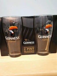 Two Guiness Pint Glasses St. Catharines, L2R 5X1