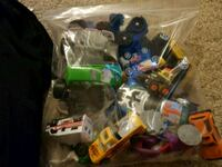 assorted plastic toys in pack Lacombe, T4L 1L4