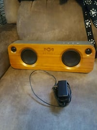 yellow and black subwoofer speaker Springfield, 65806